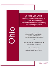 Ohio Assessment Cover Page