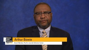PJDC Board Member Arthur Bowie talks about how NJDC and PJDC partner to enhance juvenile defense advocacy in California.