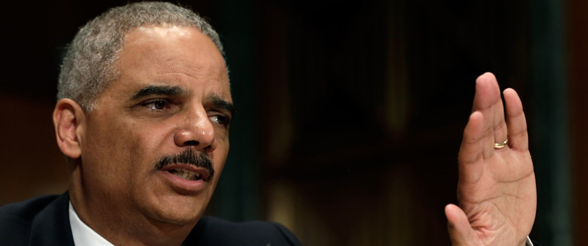 Attorney General Eric Holder Testifies At Senate Hearing On The Justice Dept.'s 2014 Budget