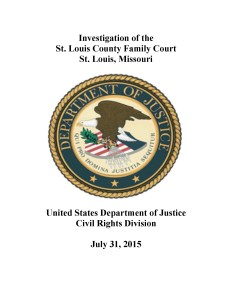 DOJ St. Louis Finding Cover