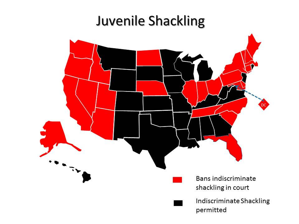 Shackling Map