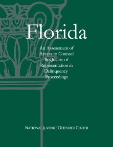 Florida Assessment Cover Page