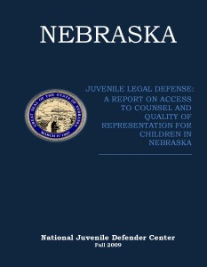Nebraska Assessment Cover Page