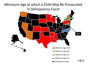 Minimum Age of Jurisdiction Map - 3.10.15