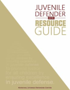 2016 Resource Guide Cover